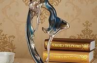 欧式美女人物客厅装饰品摆件 创意工艺礼品