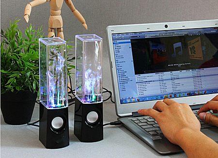创意浪漫生日礼物 独特喷水音箱 让音乐动起来