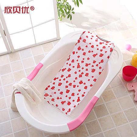 网目浴网婴儿洗澡网沐浴床婴儿洗澡架网兜