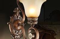 质感与美感的欧式床头灯