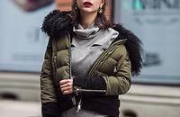 时尚加厚羽绒服外套
