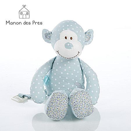 法国麦侬贝儿 猴子BOBO猴系列玩偶