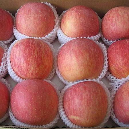 烟台脆甜栖霞红富士小苹果水果礼盒10斤