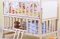 星月童話 實木多功能寶寶床 搖籃床 無漆兒童床
