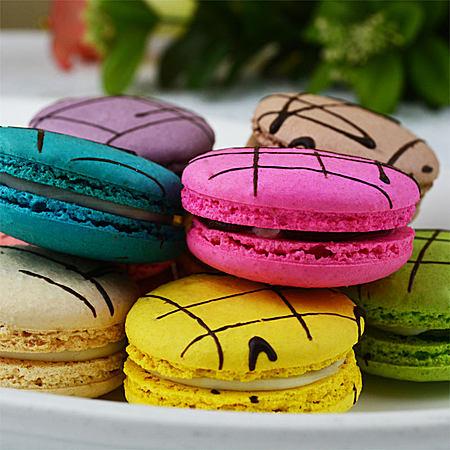马卡龙甜点法式进口生日蛋糕下午茶点心甜品零食