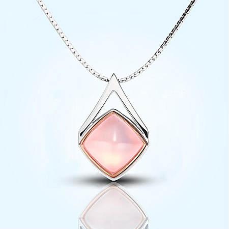 水晶芙蓉石项链