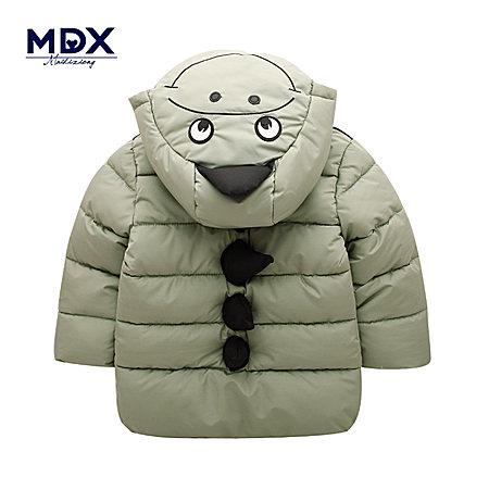 男童中长款棉衣外套