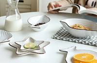 地中海洋鱼陶瓷餐具
