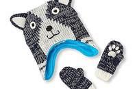 美國寶寶針織手套帽子