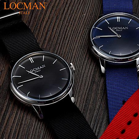 LOCMAN 尼龙表带手表
