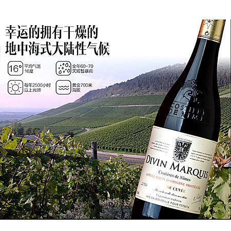 法国进口 菲尼克斯干红葡萄酒