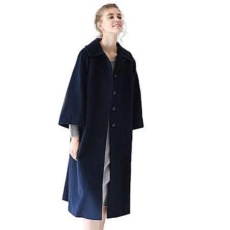 原创复古羊毛大衣