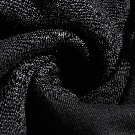 开衩棉质卫衣