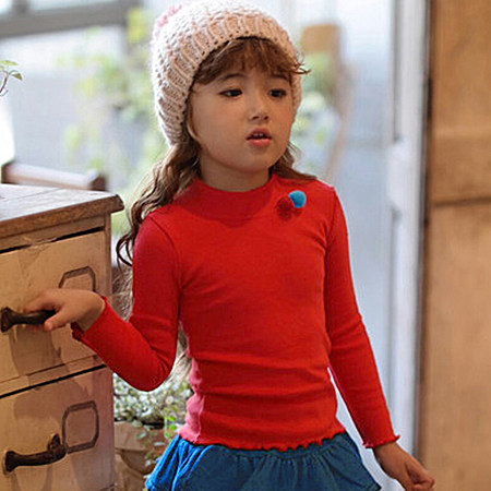 船鼠女童打底衫秋冬加厚