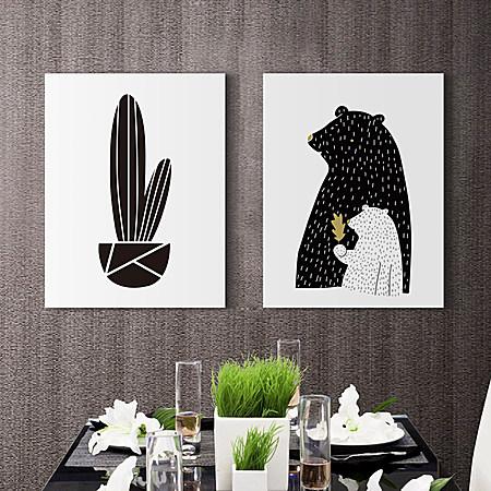简约北欧客厅装饰画