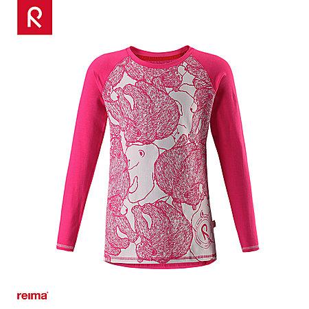 reima女童長袖T恤