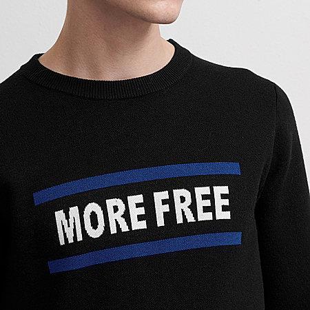 字母撞色韩版毛衣