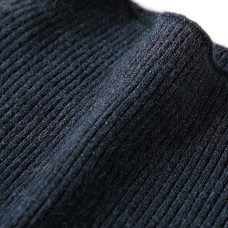 气质半高领针织套装