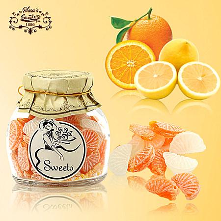 西班牙莎莎的店 柠檬橘子味糖果