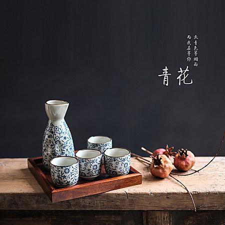 日式酒壶和风清酒酒具