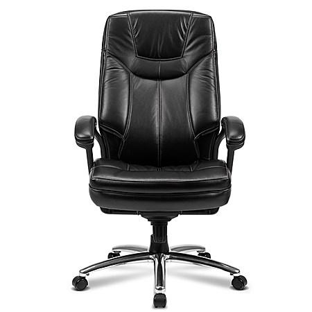 真皮家用办公电脑椅子