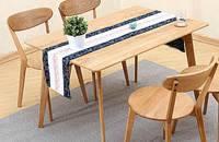日式实木餐桌椅组合