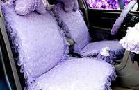 蝶舞蕾丝汽车坐垫