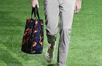 韩版修身时尚潮牌薄款卷边小脚裤男士长裤