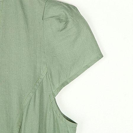 知性优雅印花显瘦中长款连衣裙