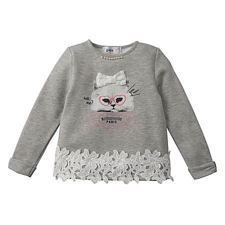 可爱小猫加绒卫衣