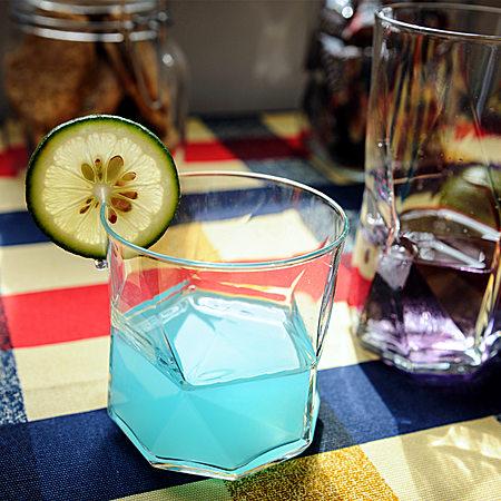 创意可爱情侣水杯透明口杯玻璃茶杯子