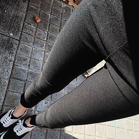 加绒外穿 紧身打底裤
