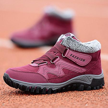 秋冬季加绒保暖健步棉鞋