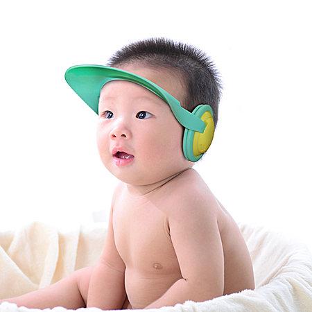 寶寶防水洗發帽 嬰兒洗頭帽 可調節兒童洗澡帽