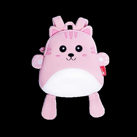 粉色小猫咪宝宝背包
