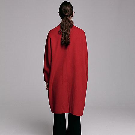 优雅双面羊绒大衣