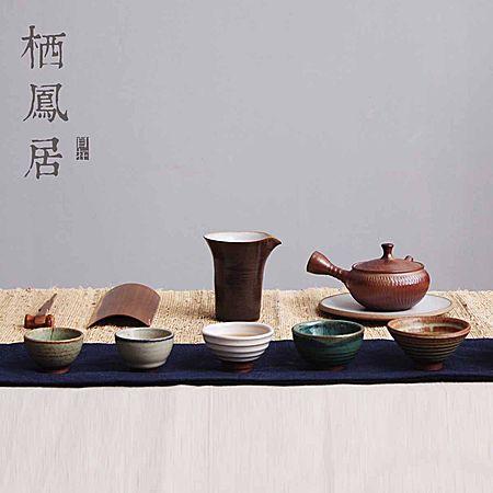 家居生活  手工粗陶茶具