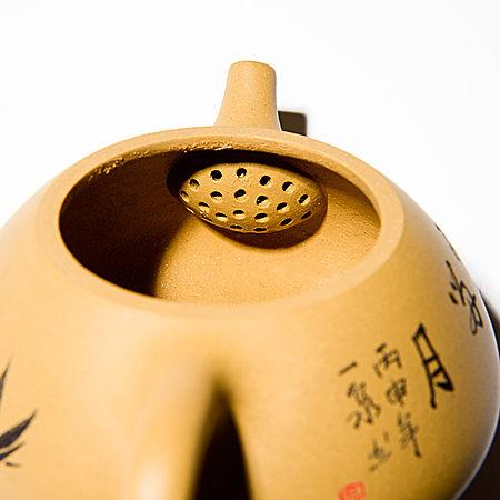 手工紫砂石瓢壶