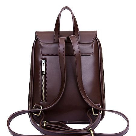 新款时尚复古潮流双肩背包休闲书包
