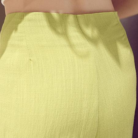 夏新款韩版时尚女纯色棉麻短袖亚麻短裤两件套