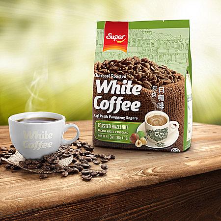super香烤榛果味炭烧白咖啡