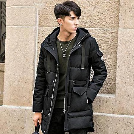 冬季连帽韩版羽绒服