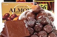 韩国进口lotte乐天黑加纳巧克力