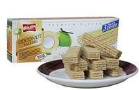 椰子味威化饼干100g/盒 泰国进口食品椰奶香甜点