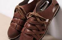 文艺复古编织镂空凉鞋