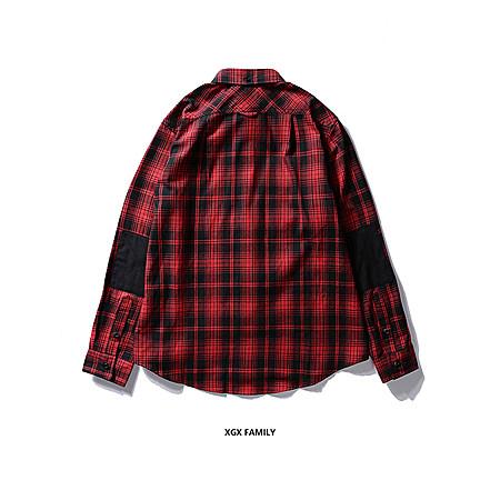 黑红格纹衬衫