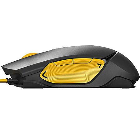 有线游戏鼠标宏编程游戏专用 加重背光灯台式