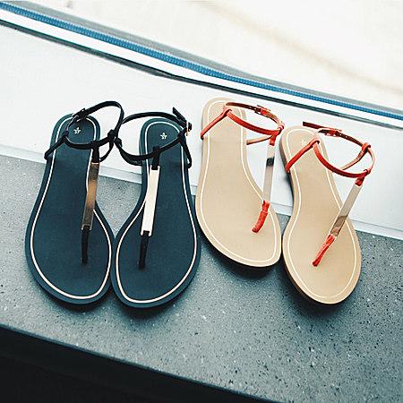 罗马凉鞋 夏日里绽放异域风情