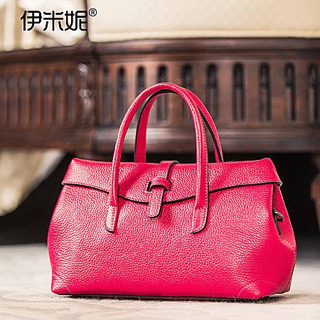 小米包铺真品时尚简约手提包斜背包 两用包