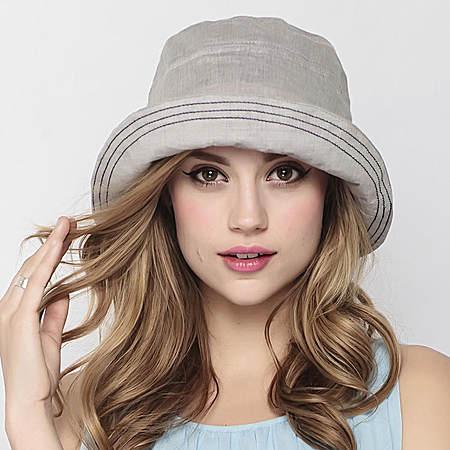 时尚全棉女士夏天遮阳帽可折叠